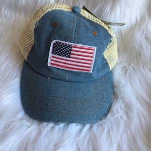 New Denim cotton women's baseball hat